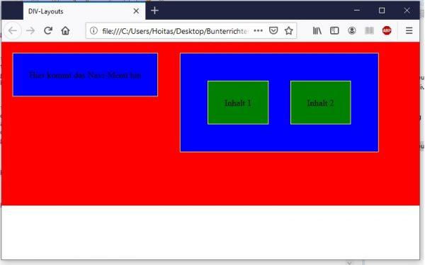 CSS in HTML einfügen Regeln