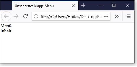 CSS Drop-Down-Menü