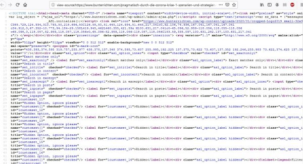 Firefox Sourcecode anzeigen 2
