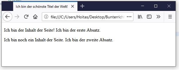 HTML Text-Formatierung 3