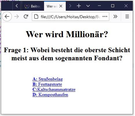 Wer wird Millionär programmieren