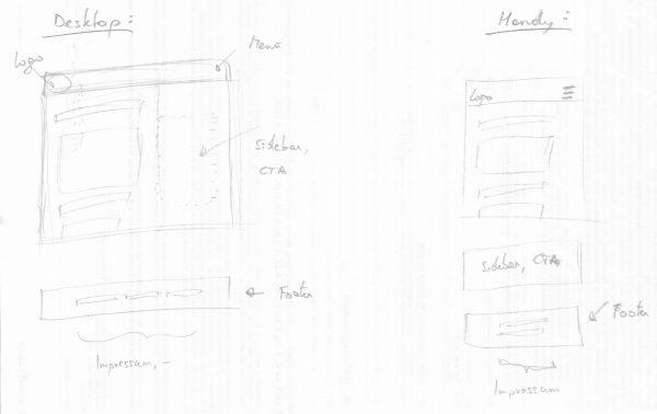 Webseite programmieren Design 2