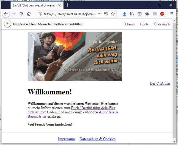 Webseite programmieren HTML und CSS 13