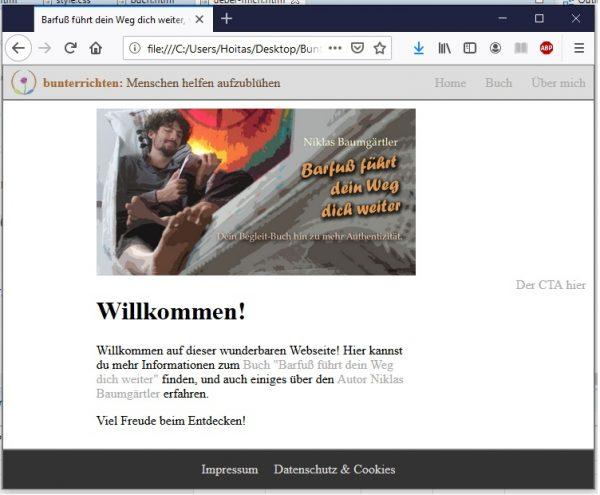 Webseite programmieren HTML und CSS 14