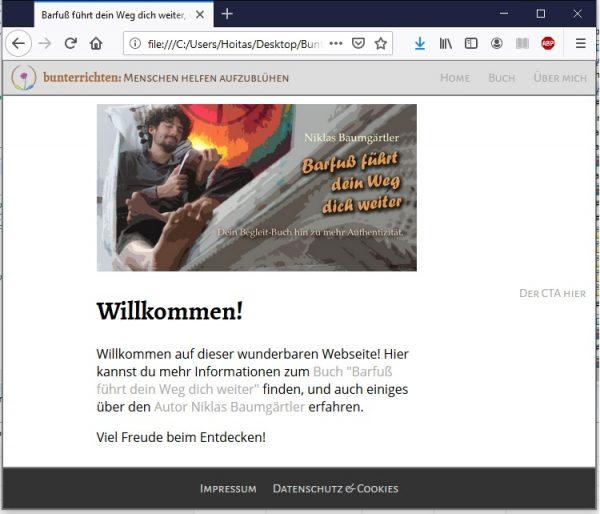 Webseite programmieren HTML und CSS 15