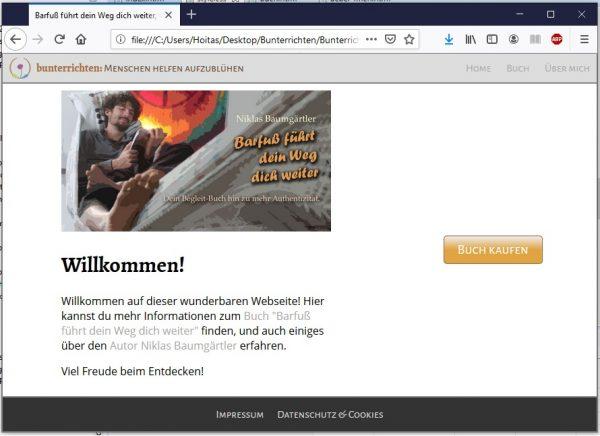 Webseite programmieren HTML und CSS 17