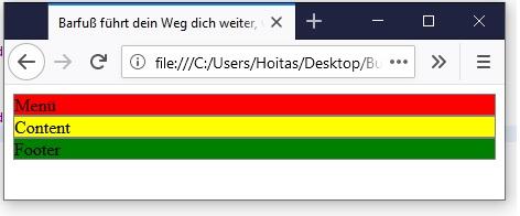 Webseite programmieren HTML und CSS 2
