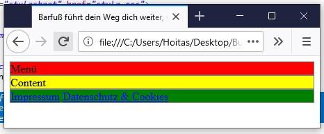 Webseite programmieren HTML und CSS 3