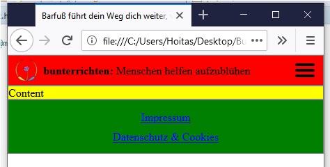 Webseite programmieren HTML und CSS 7