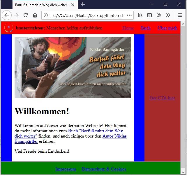 Webseite programmieren HTML und CSS 9