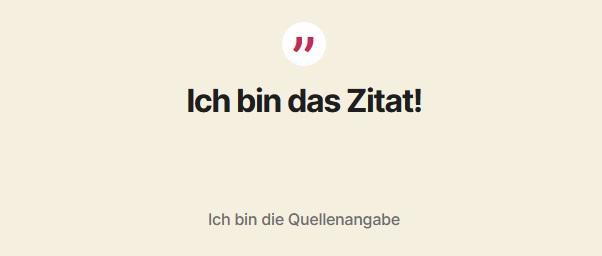 WordPress Gutenberg Zitat einfügen 2