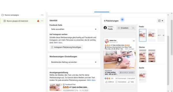 Facebook gehacked Werbeanzeigen unter meinem Konto geschalten