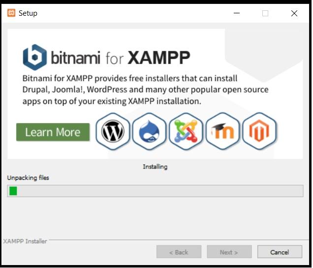 XAMPP installieren 6
